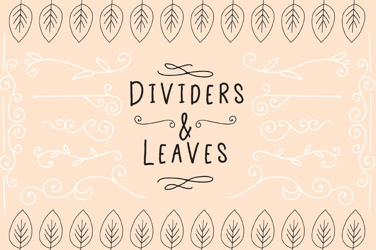 Dividers And Leaves example image 1
