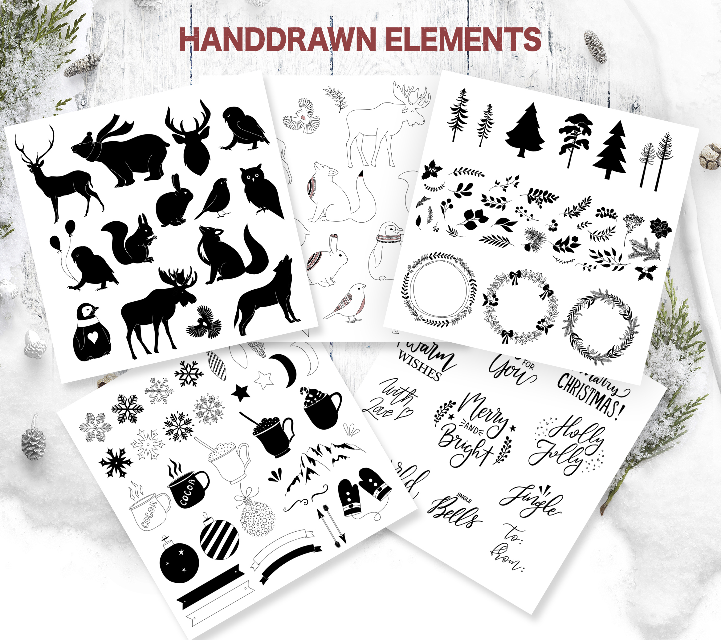Christmas Design Bundle DIY example image 2