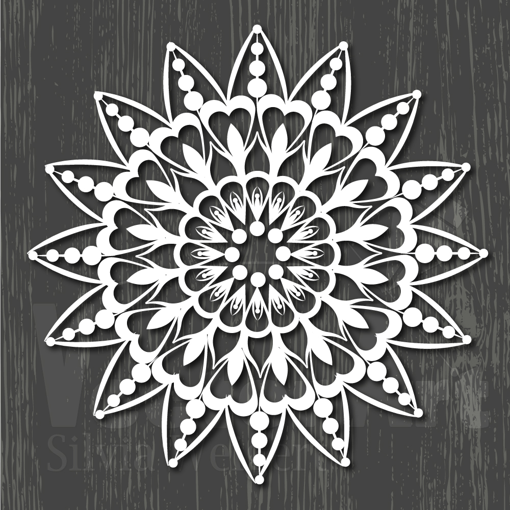 Mandalas SVG - Cut Files for Beginners example image 15
