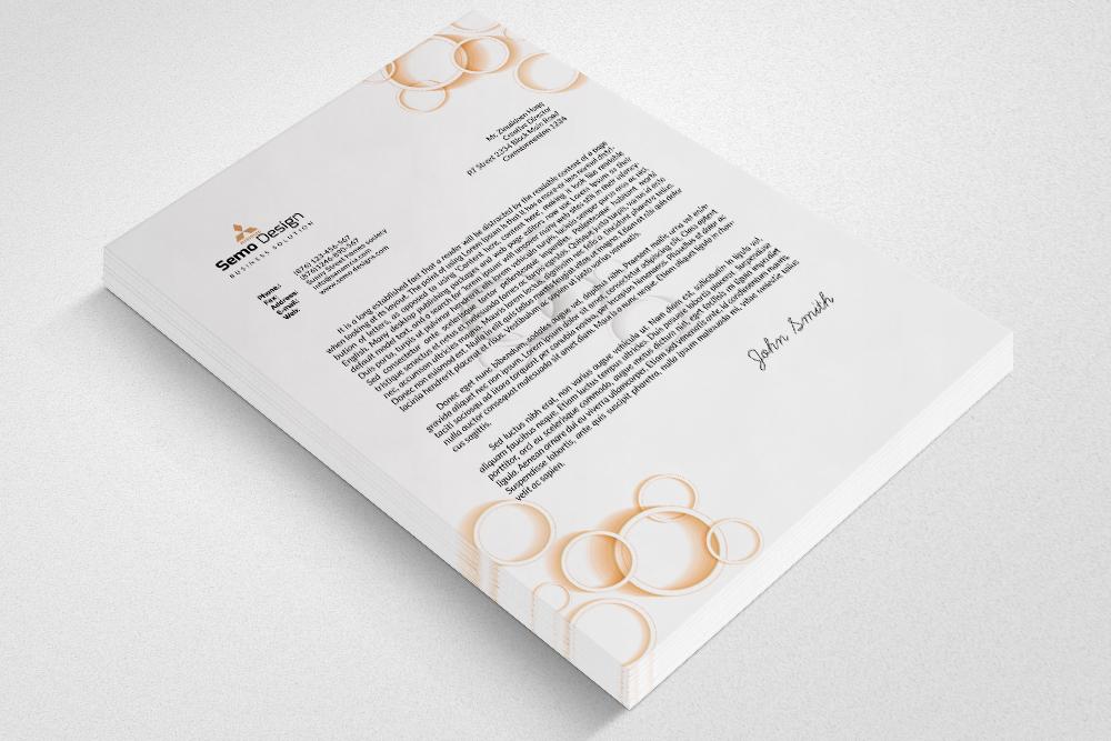 Fresh Business Letterheads example image 3