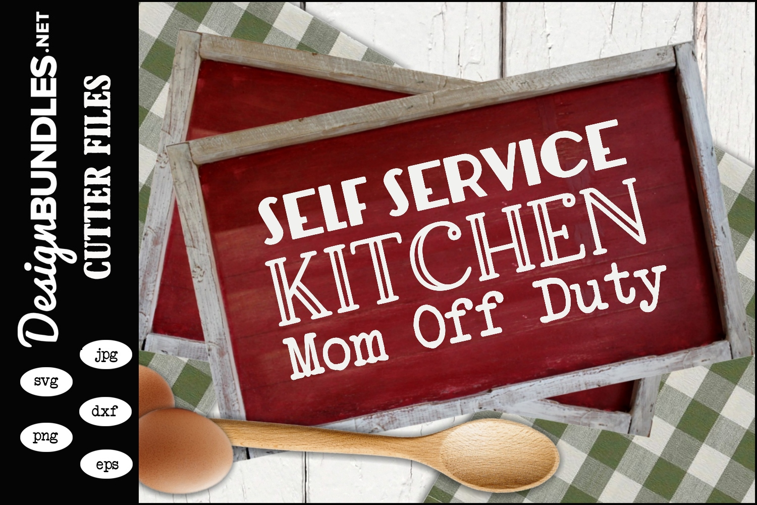 Self Serve Kitchen SVG example image 1