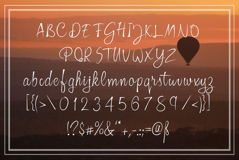 Praktys font example image 2