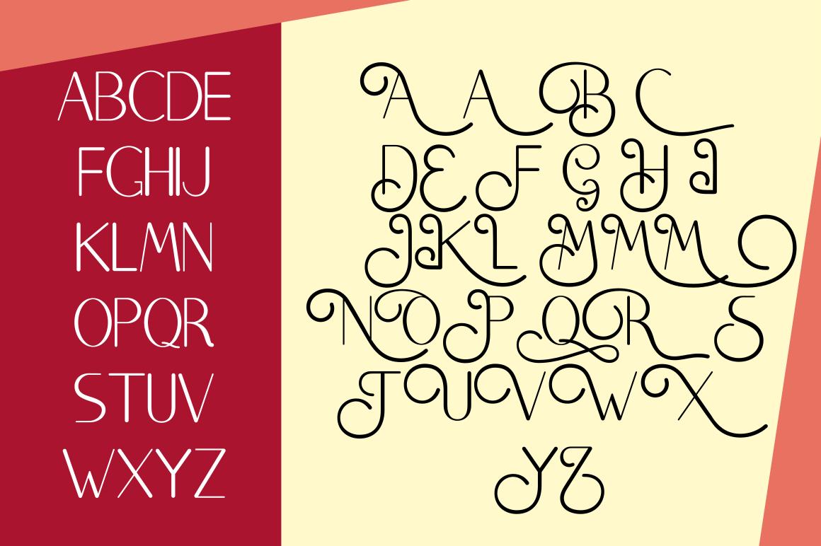 Brighty Sans Script example image 7
