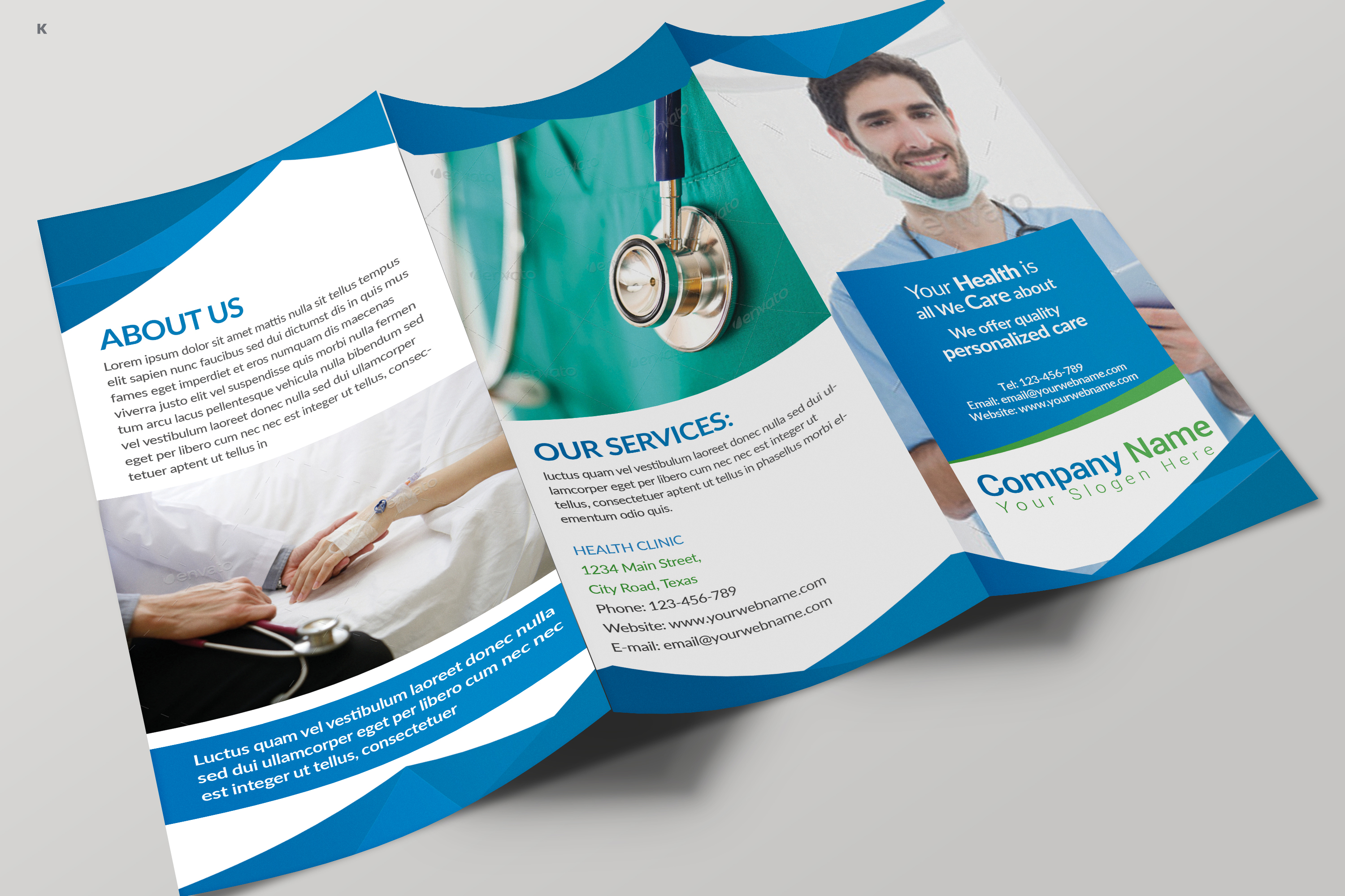 Health Care Trifold example image 7