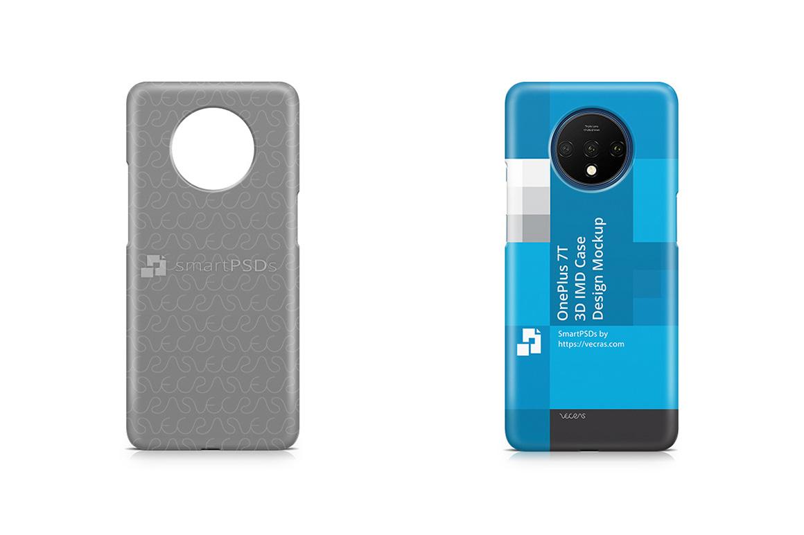 OnePlus 7T 3d IMD Case Design Mockup 2019 example image 1