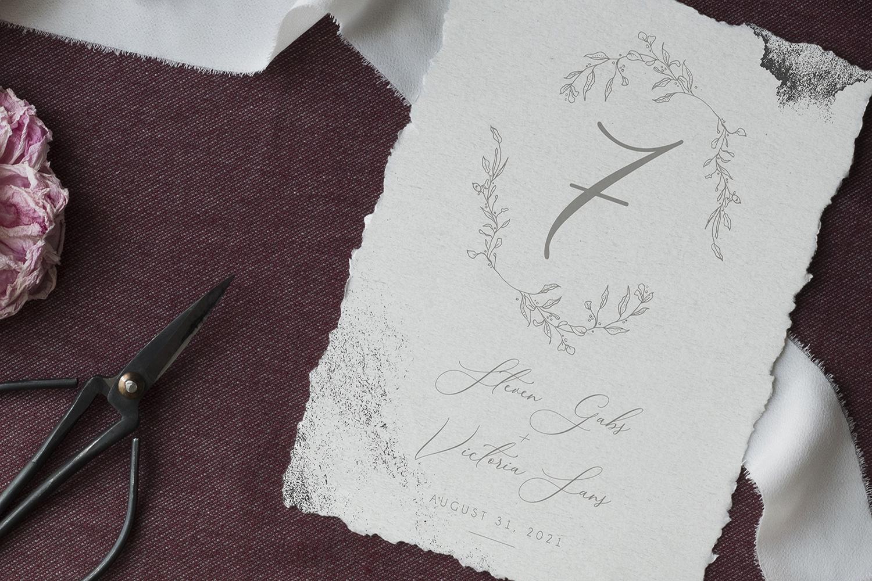 Modern Sketch - Wedding Set example image 6