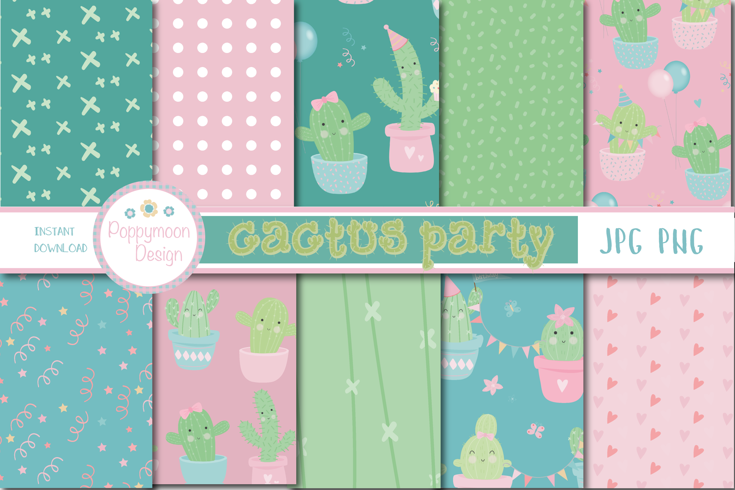 Cactus party pack example image 2