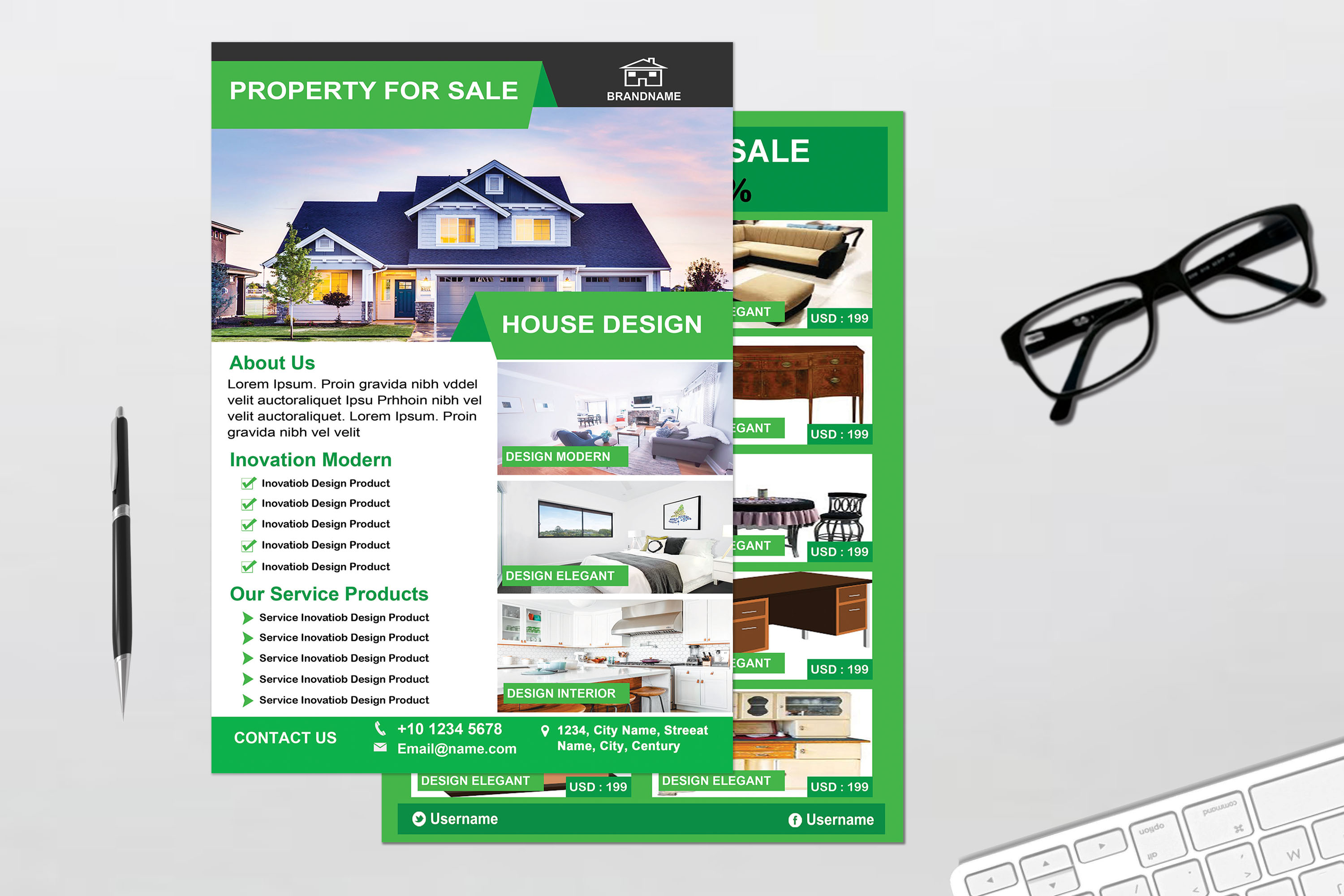 Flyer - Real Estate example image 5