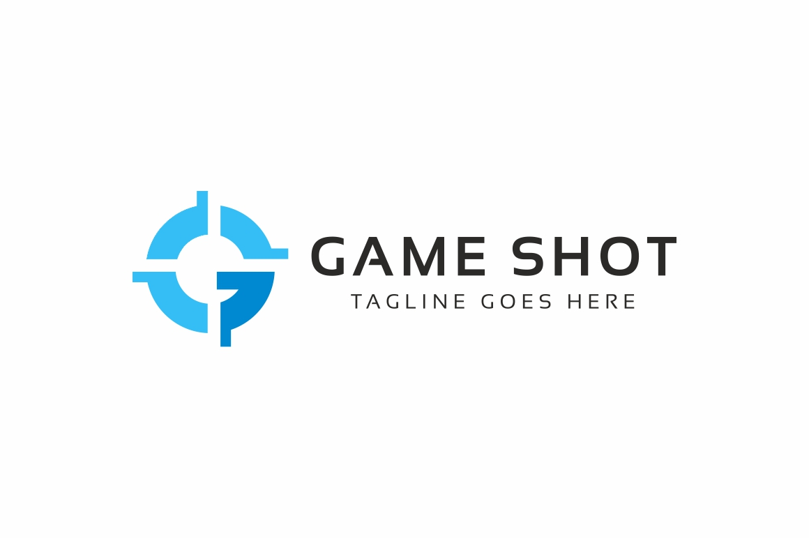 Game Shot Logo example image 4