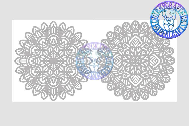 Big Bundle JULY 2018 - 31 Papercutting Templates example image 22