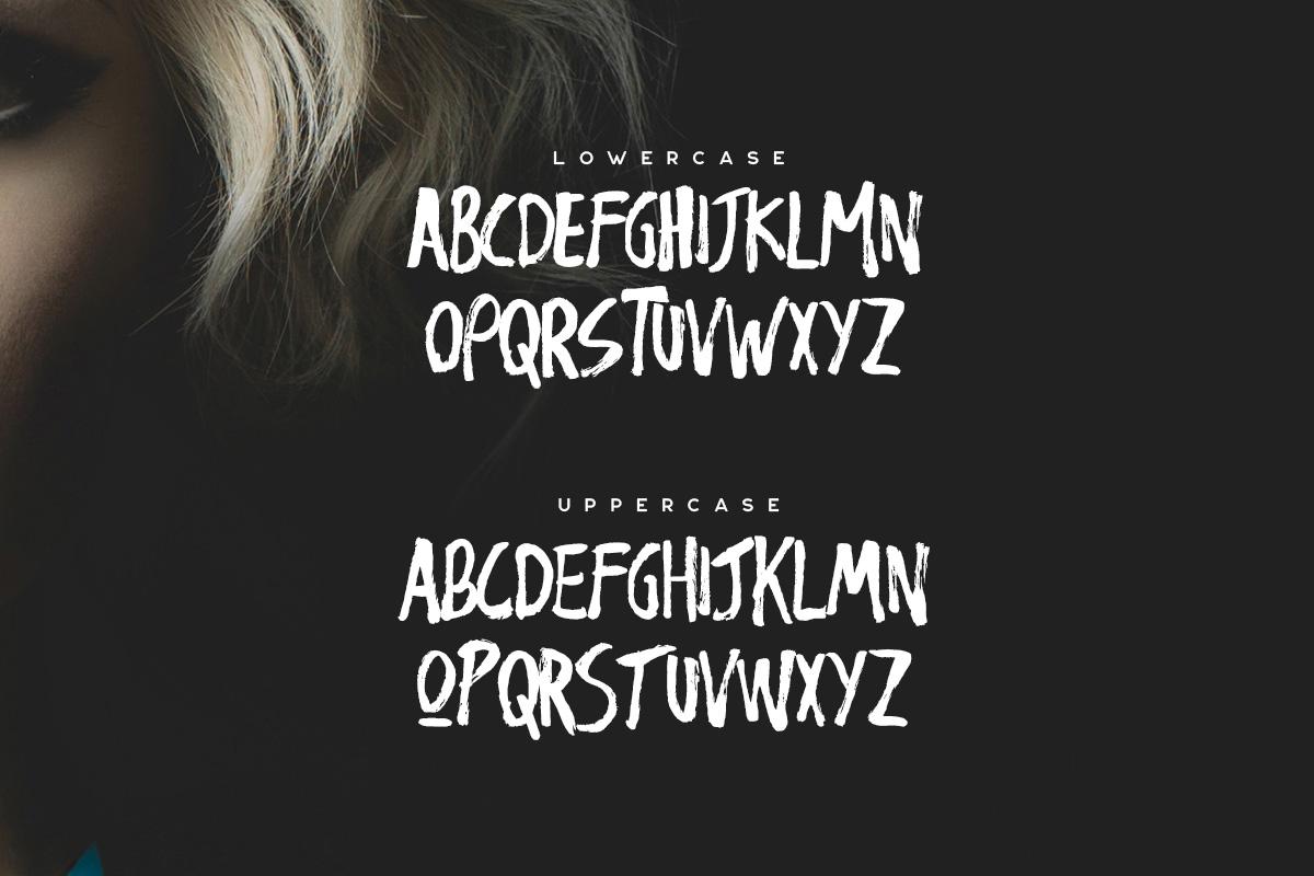 Nigma - Brush Font example image 2