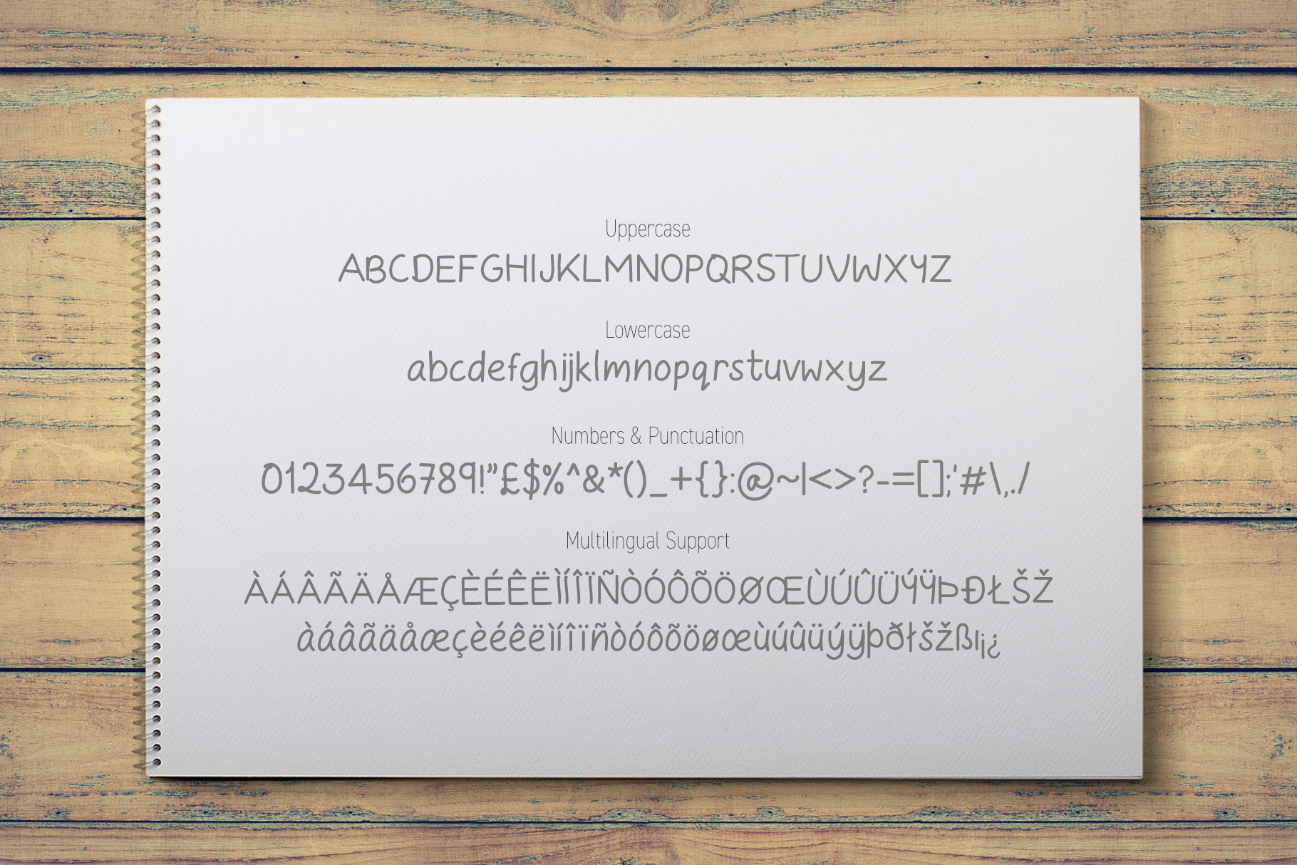 Take Note - A Casual Handwritten Font example image 2
