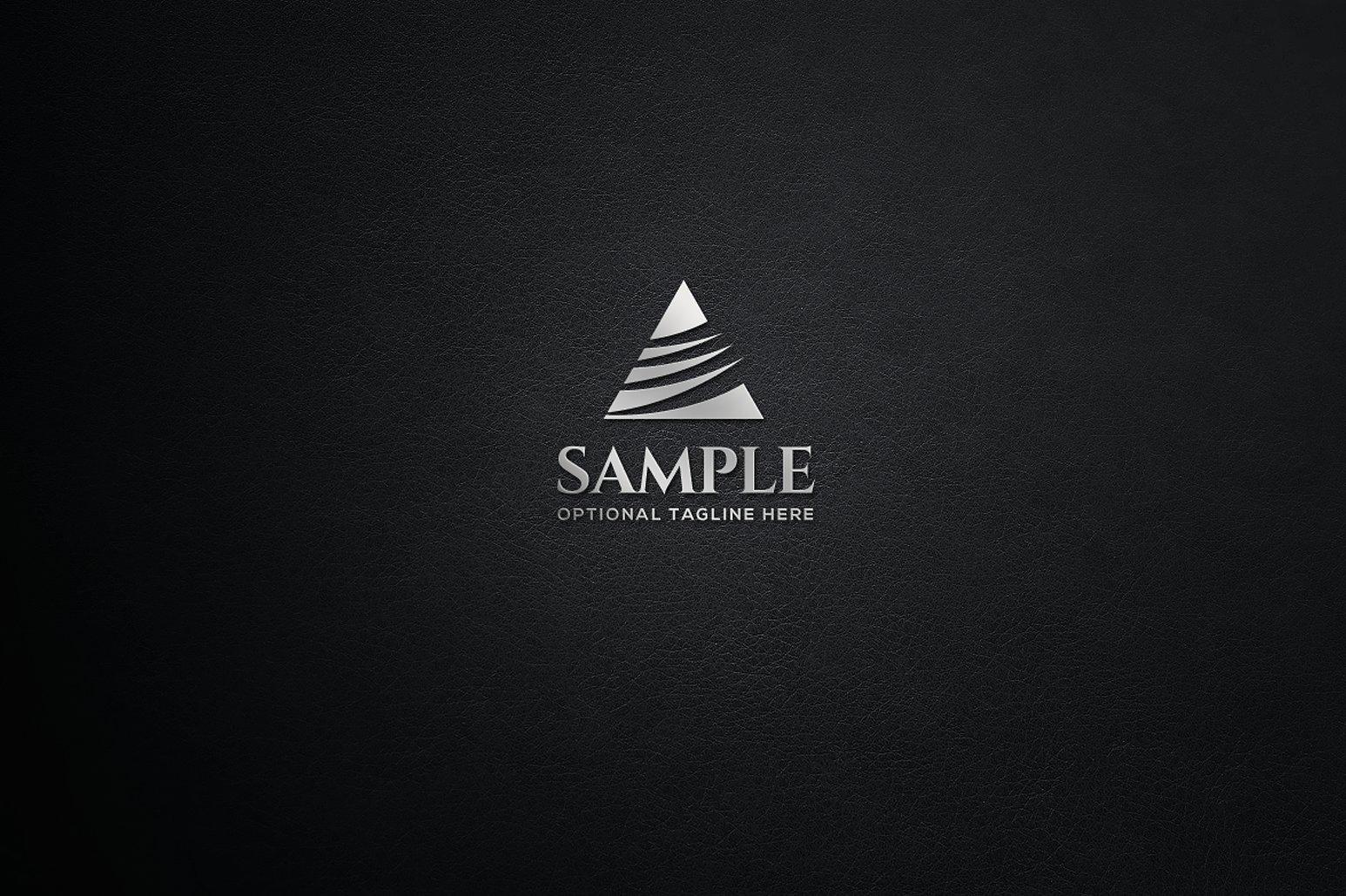 Triangle Logo Design Set example image 3