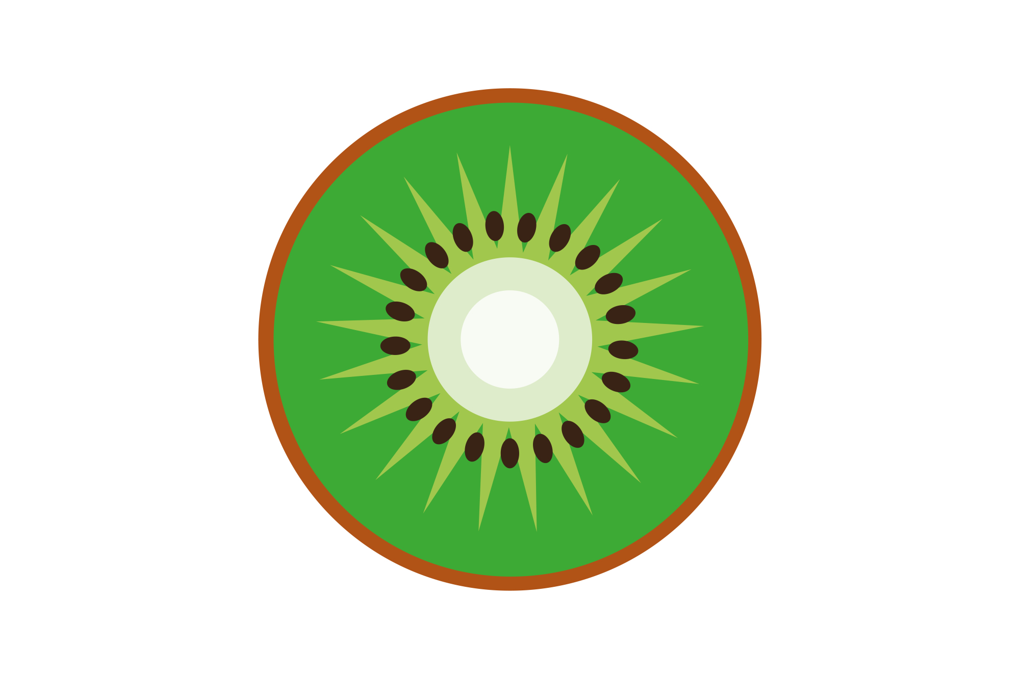 Collection of vector fruit icons example image 4