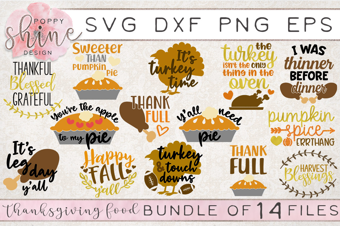 HUGE Holiday Bundle of 78 SVG PNG EPS DXF Cutting Files example image 9