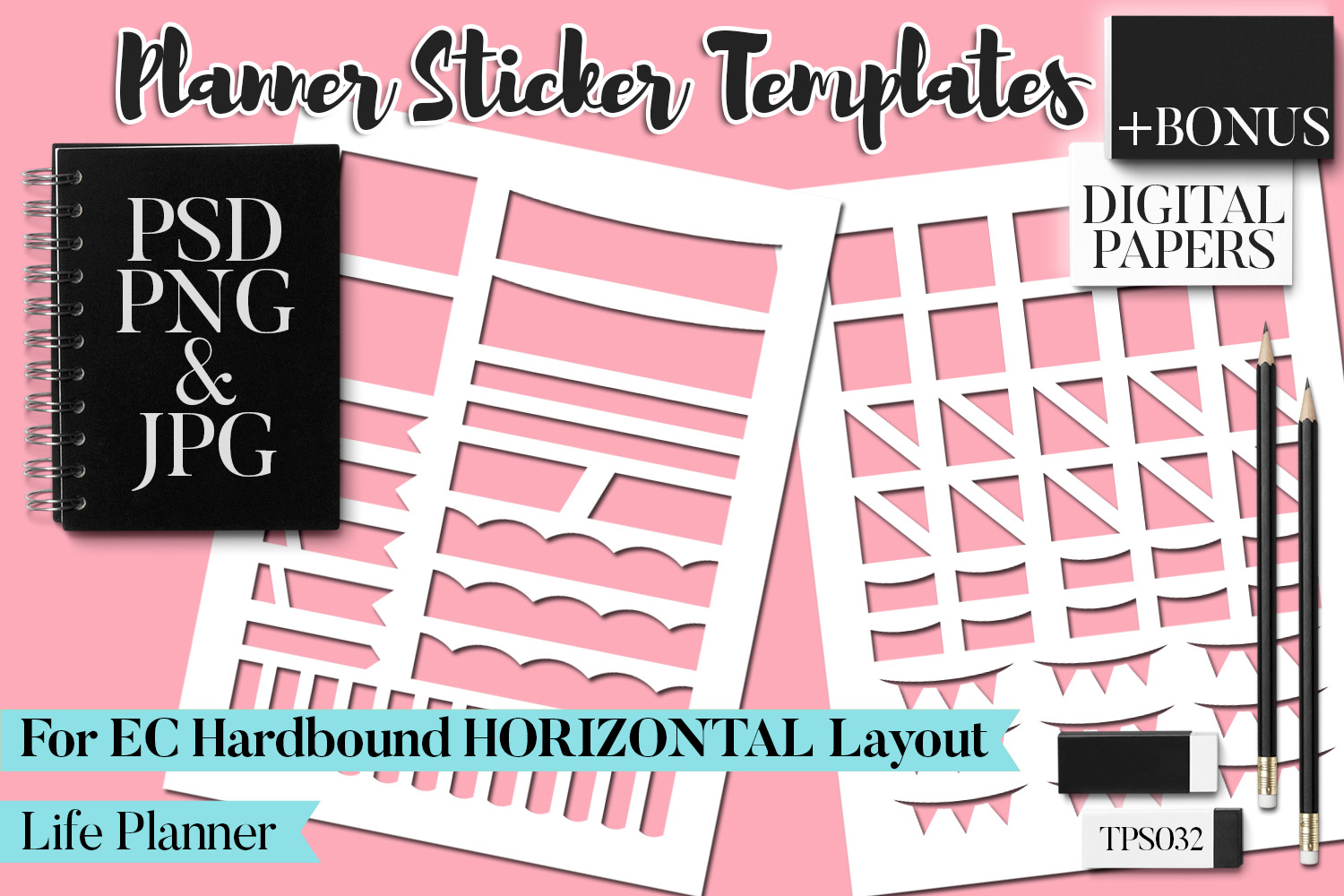 Planner Stickers Templates - Bundle Vol. 11 example image 11