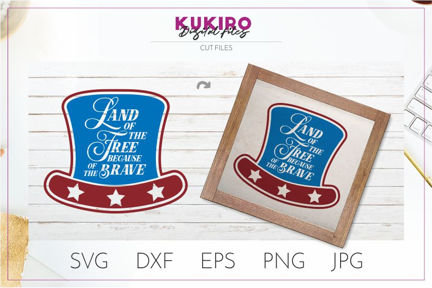 4th of July Bundle SVG - Big Patriotic Cut files Bundle example image 21