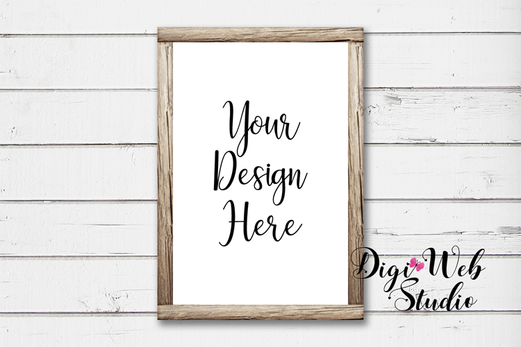 Mockup Bundle - Butterfly Cottage Wood Signs, Pillow & Mug example image 8