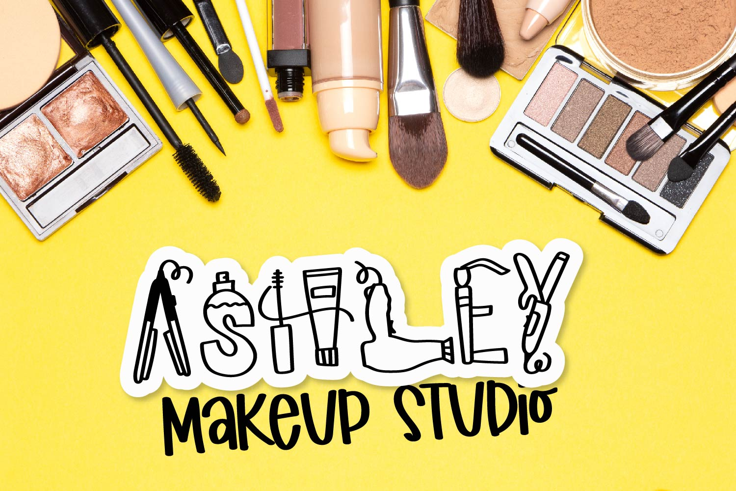 Makeup - A Beauty Supply Font perfect for Make Up Lovers example image 4