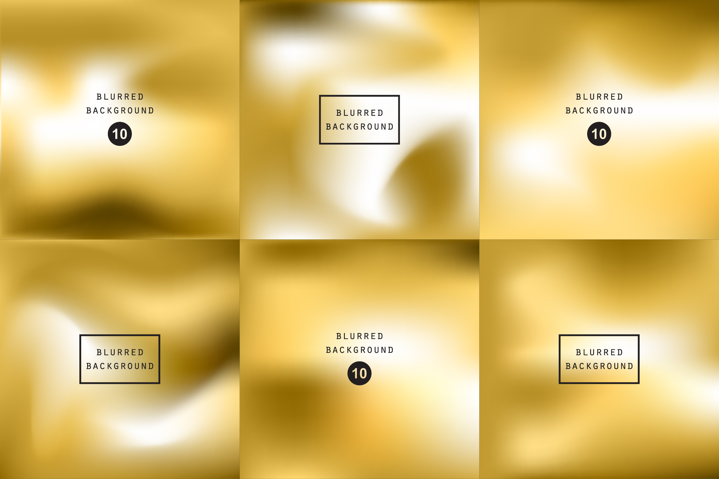 Blurred gold effect holographic gradient abstract background example image 1