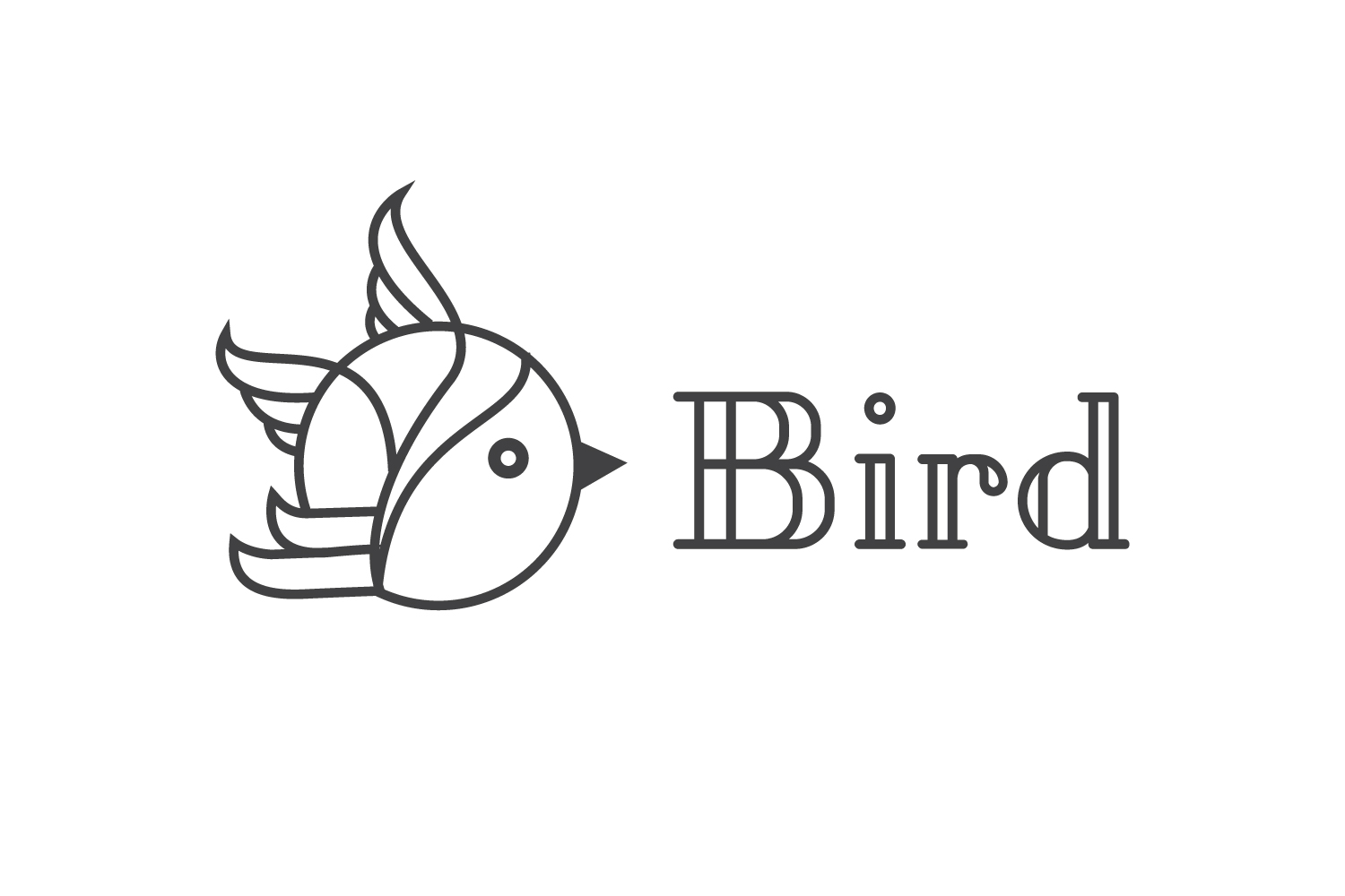Cute Bird Logo example image 1