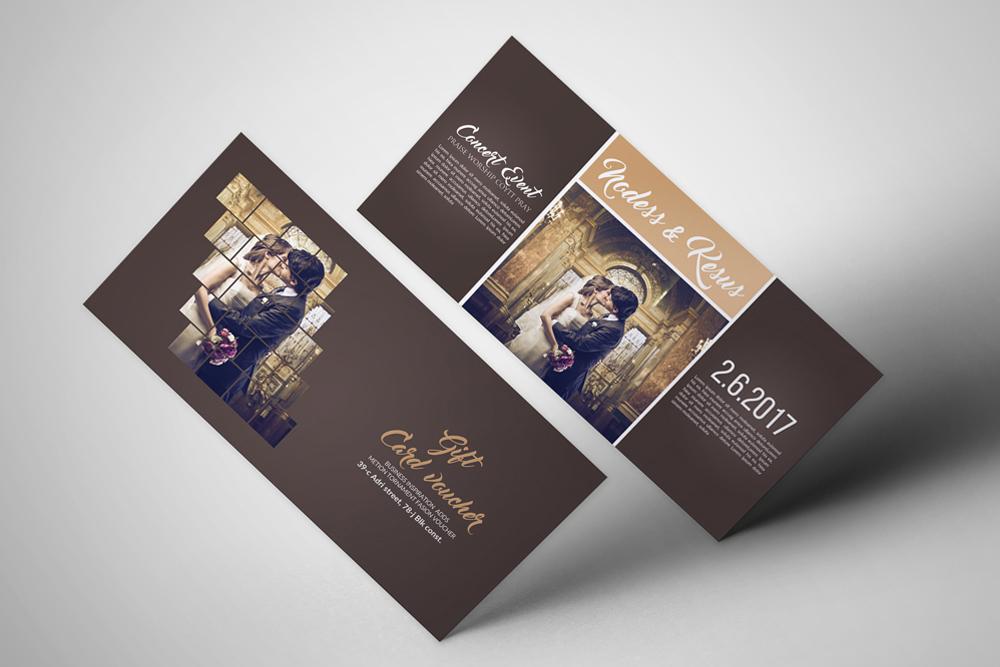 Wedding Invitation Gift Voucher example image 1