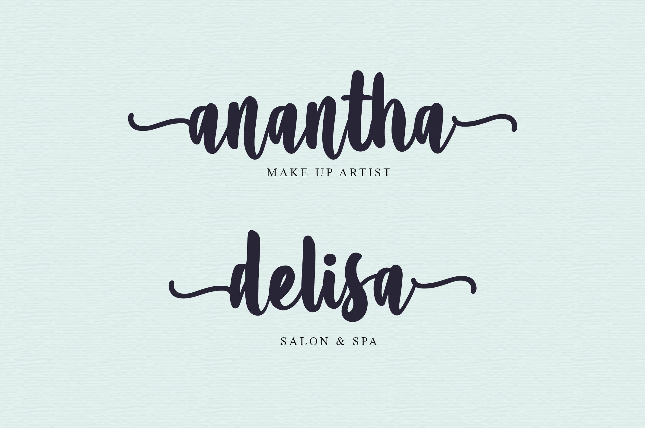 Amanise | Handwritten Script Font example image 3
