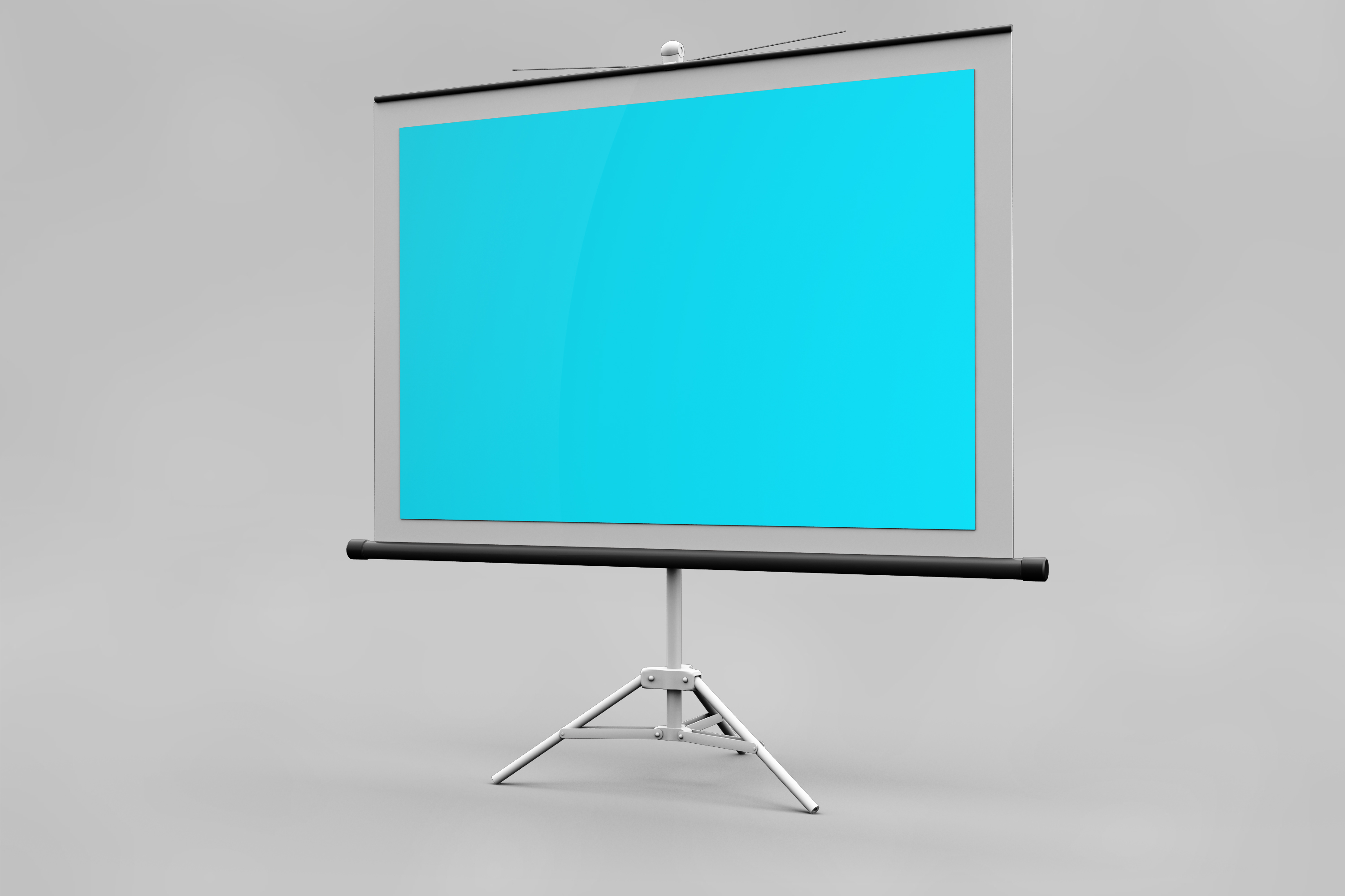 Projector Screen MockUp example image 4
