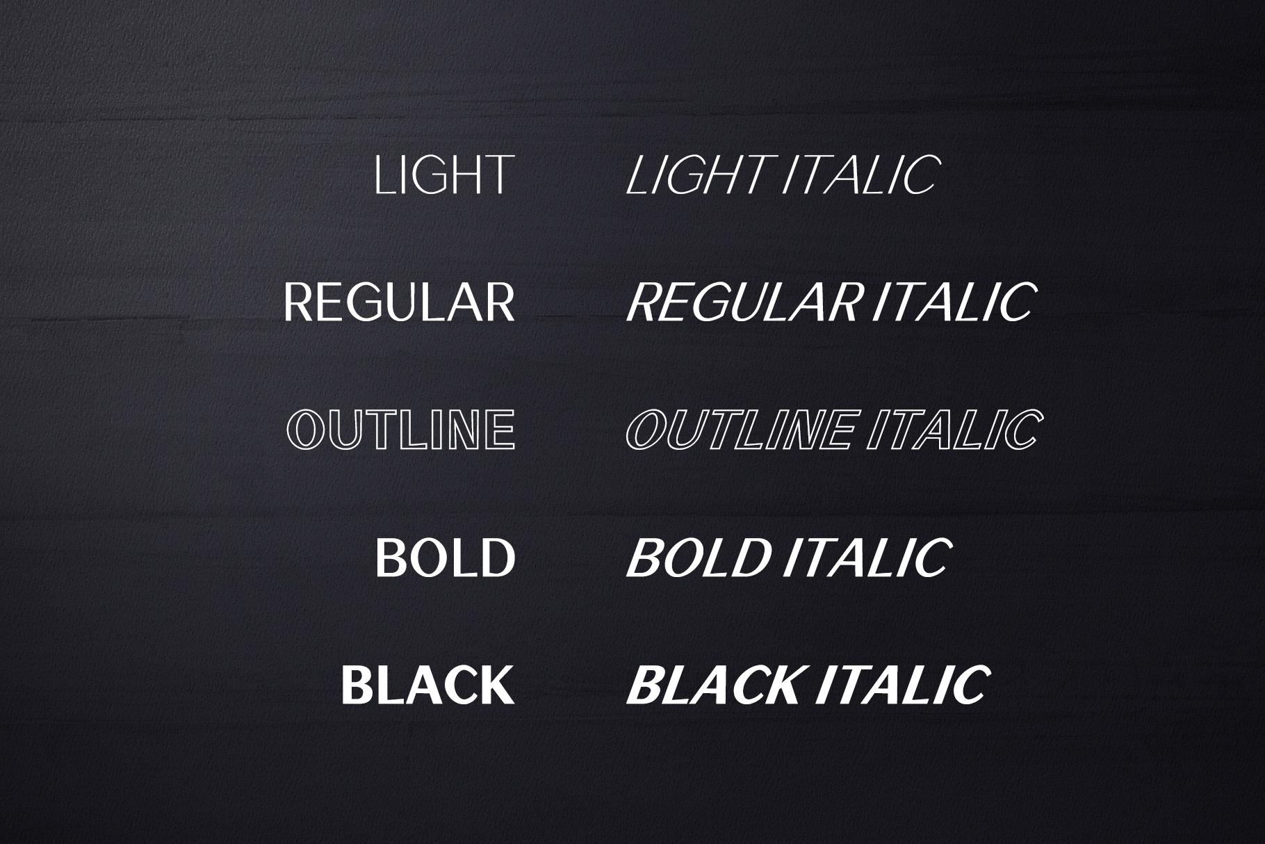 Rockley Sans Serif Font Family example image 3
