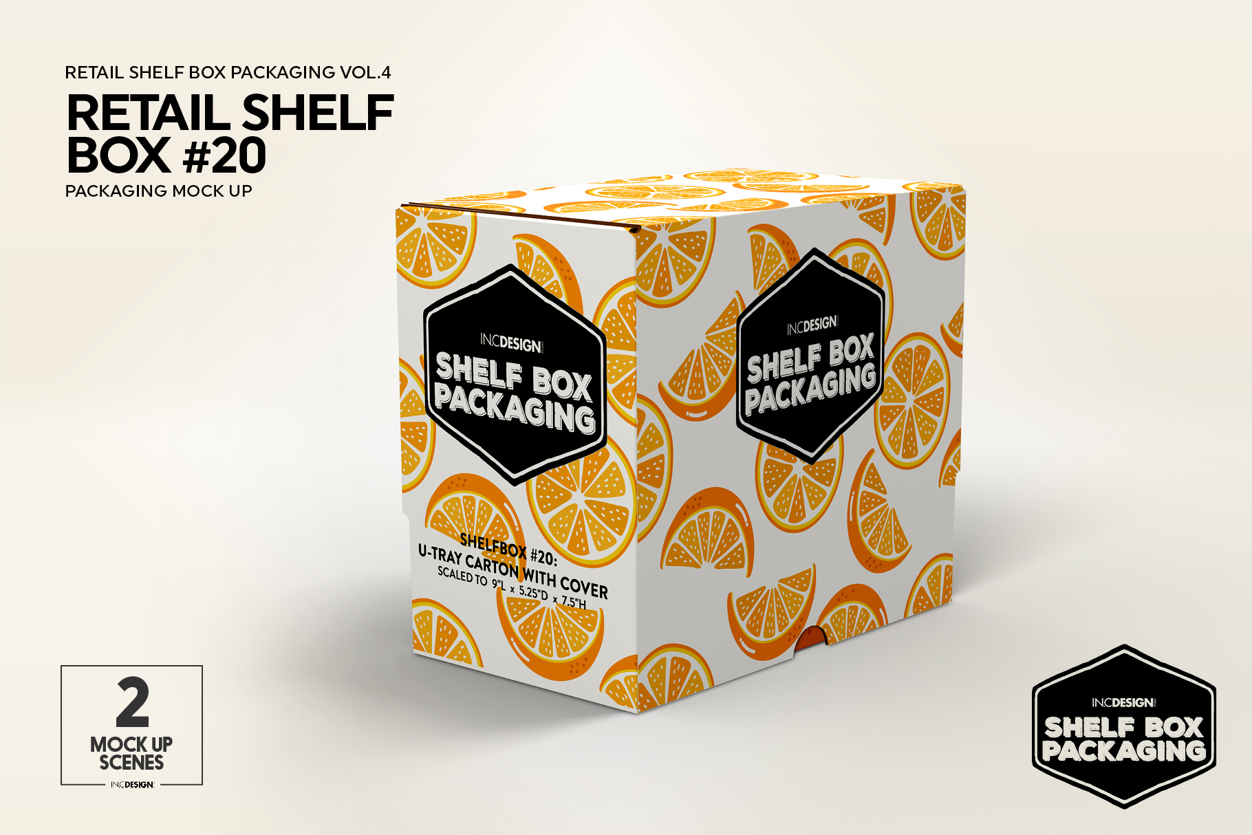 Retail Shelf Box 20 Packaging Mockup example image 7