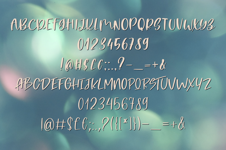 Magic Flower Font Trio example image 7