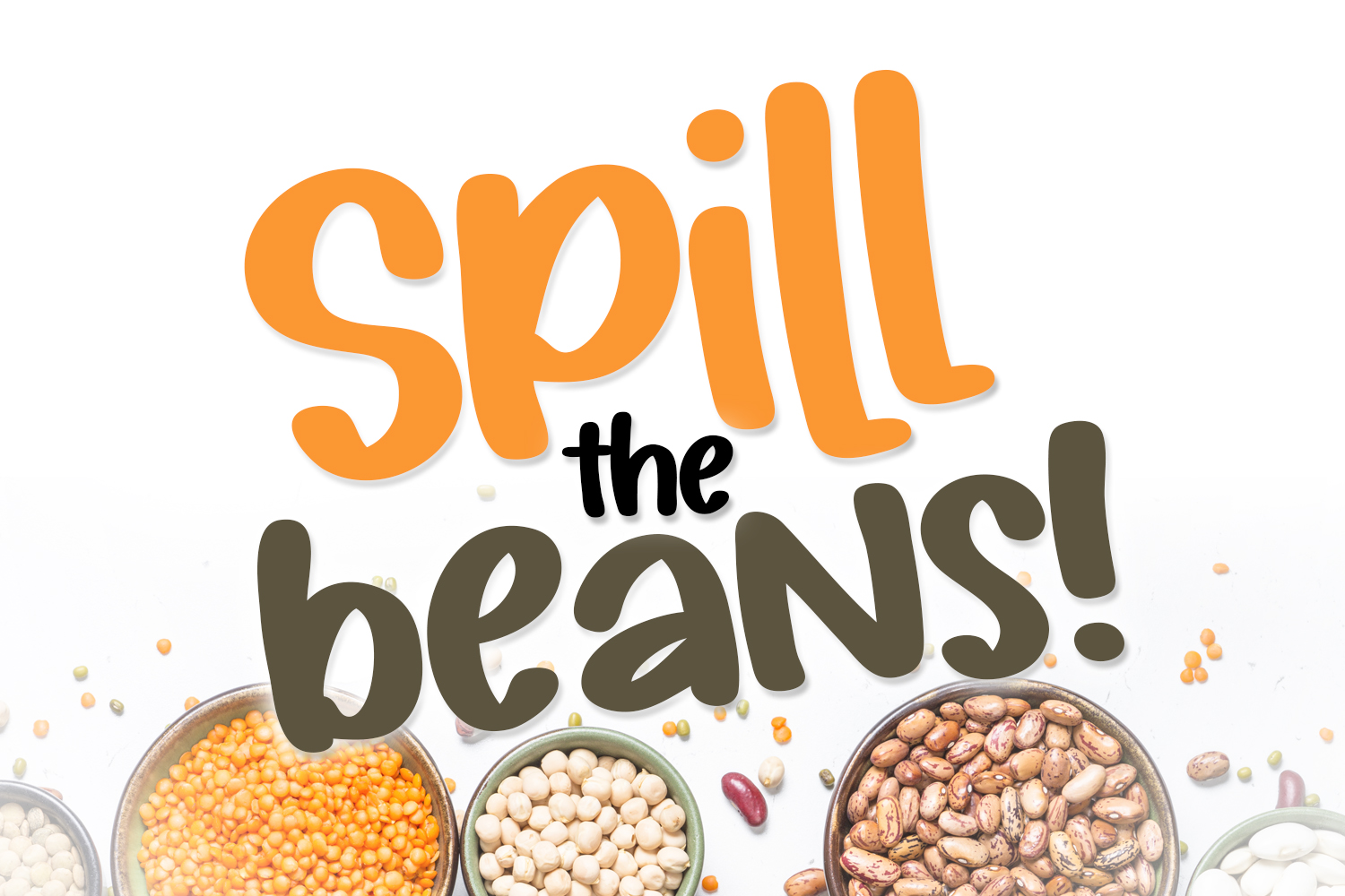 Silly Beans Font example image 4