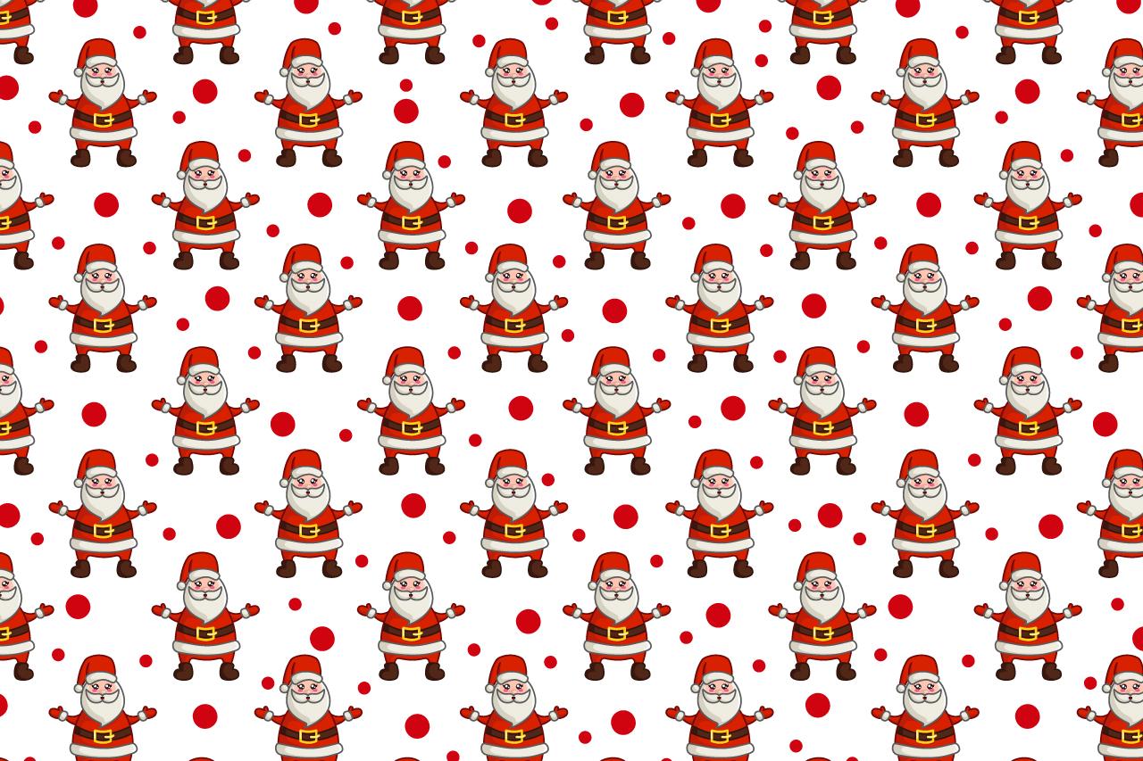Cute vector Christmas - Santa Claus example image 2