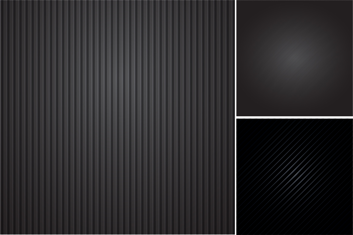 Colleciton of black striped textures example image 6