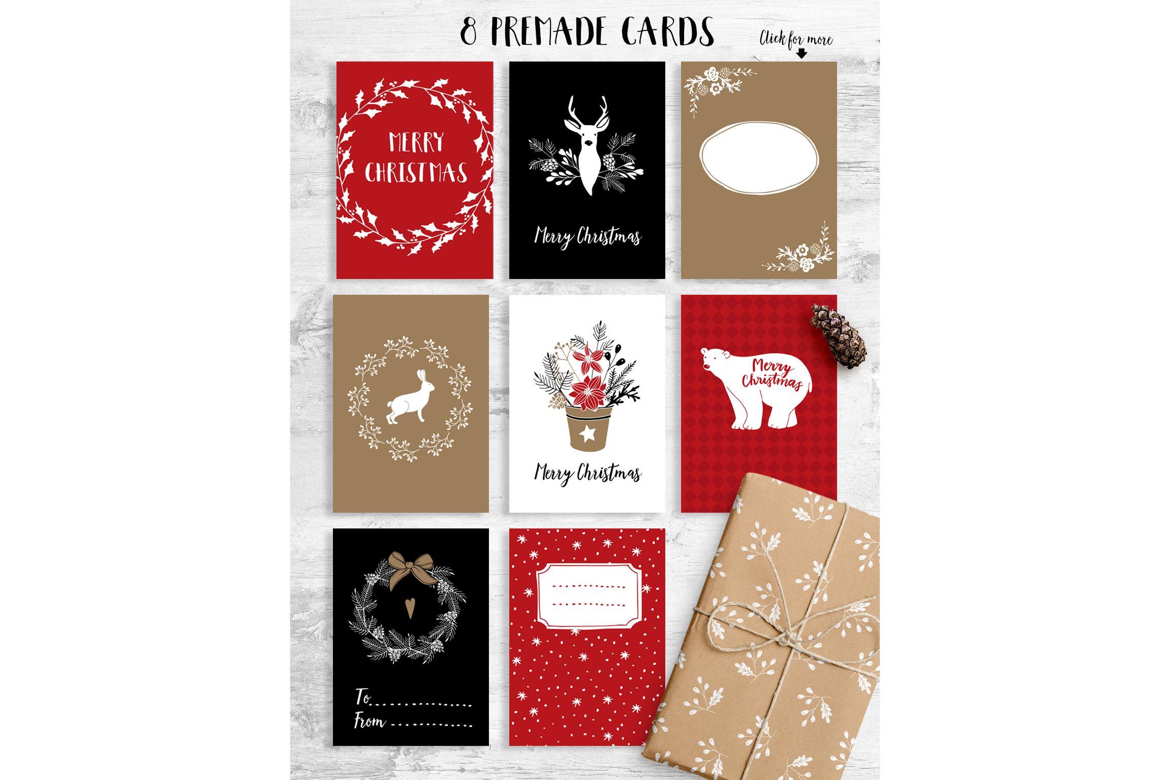 White Christmas set example image 5