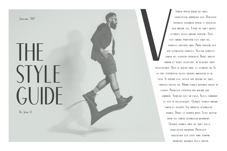 Von Bond - A Classy Sans Serif example image 2