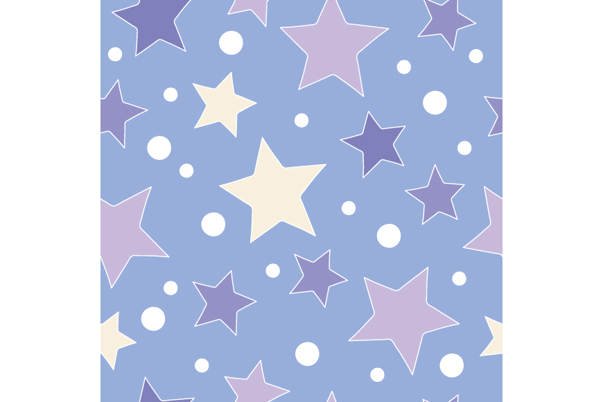 Set of 4 seamless Christmas backgrounds with doodle deers and stars.  example image 1
