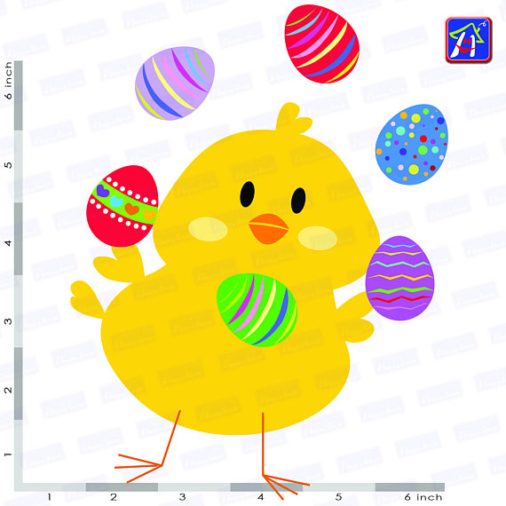 Easter chicks clip art - Easter clipart - Easter images example image 4