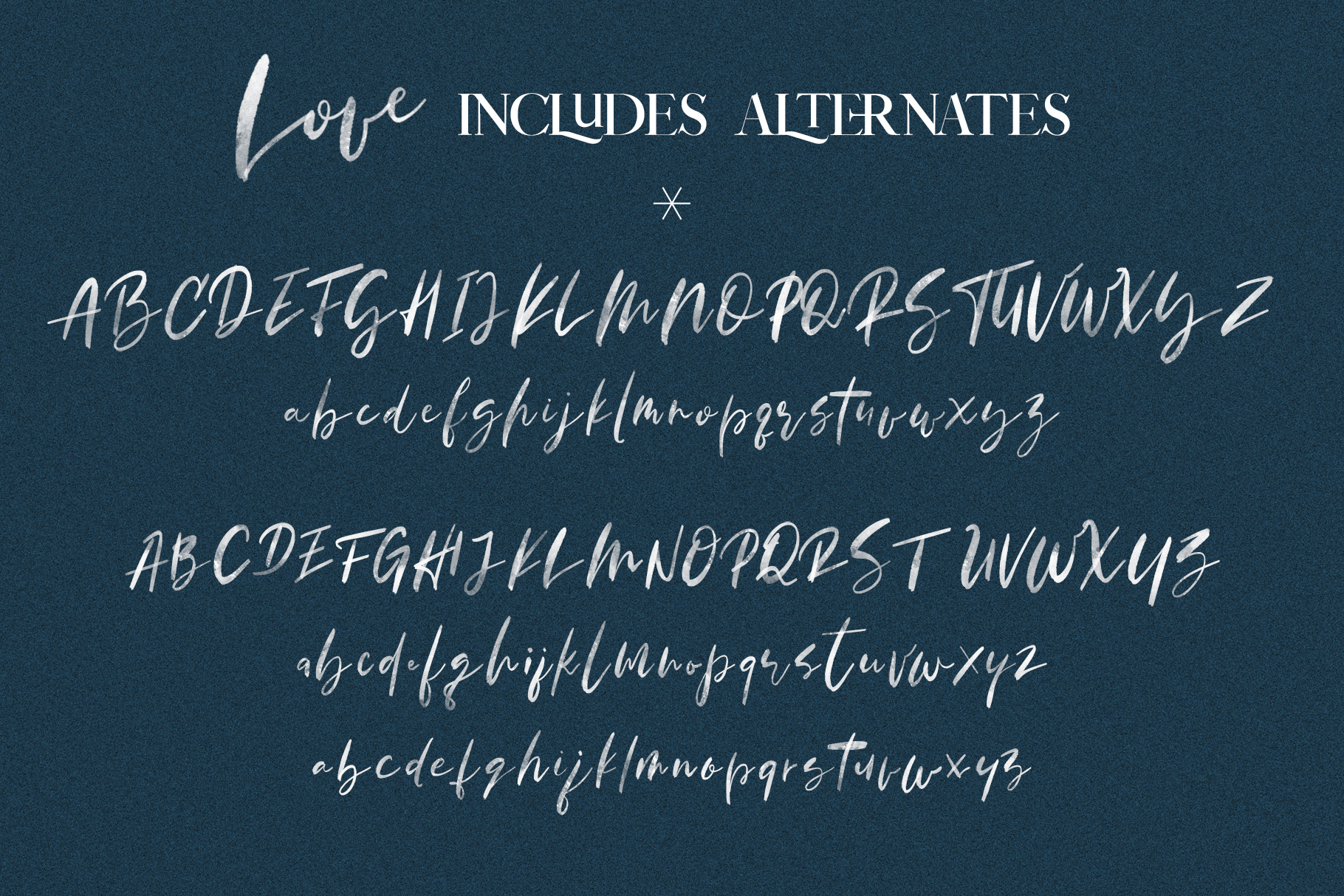 January Love Font Duo With 10 Logos & More Extras example image 26