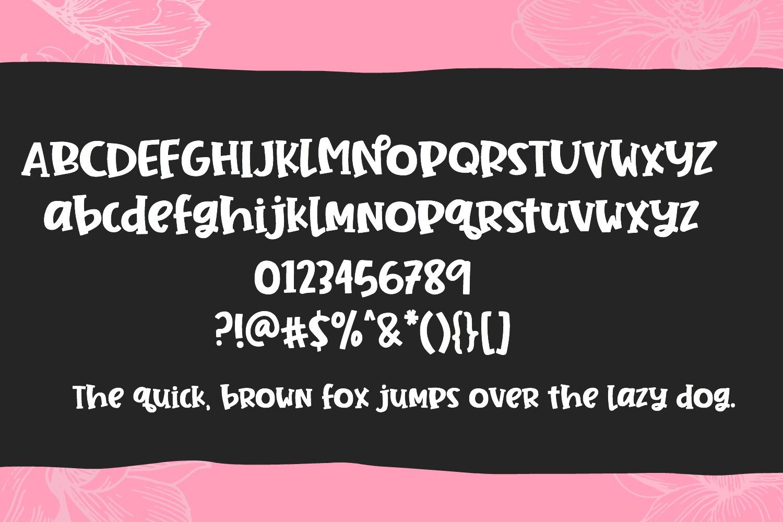 Jane Magnolia- Cut-Friendly Handwritten Font example image 5