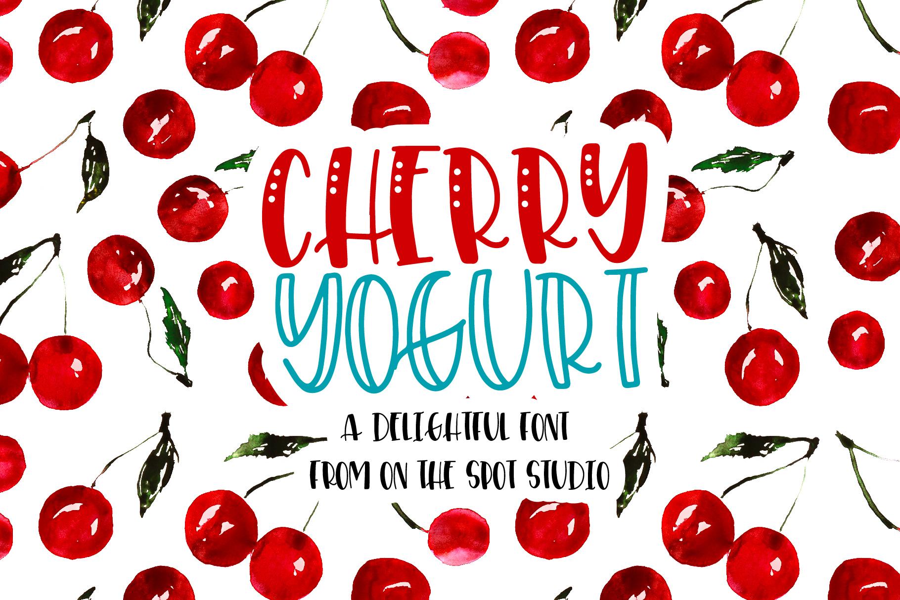 Cherry Yogurt example image 1