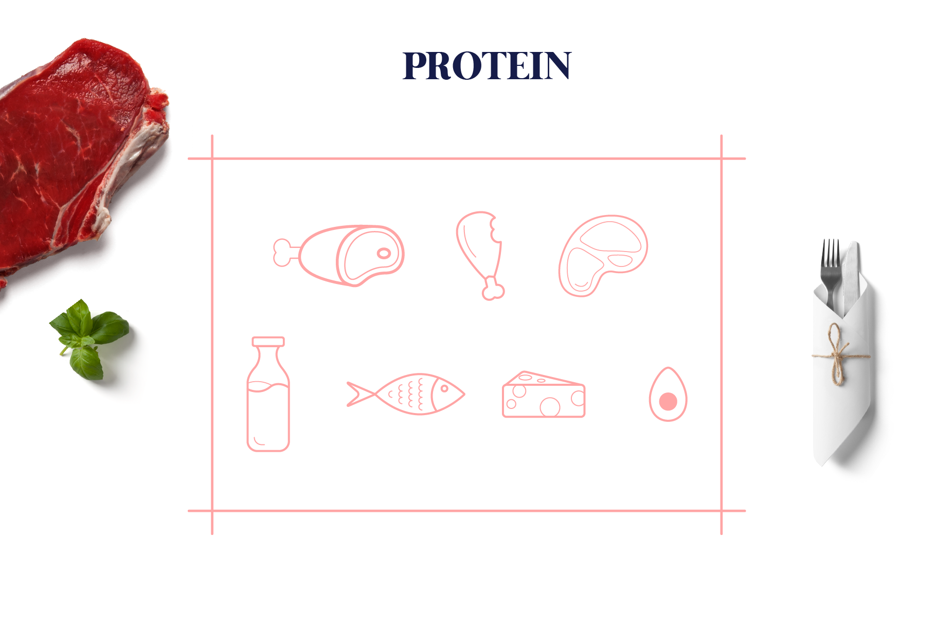 Fitfood Icons Set - Food & Health Pack example image 9
