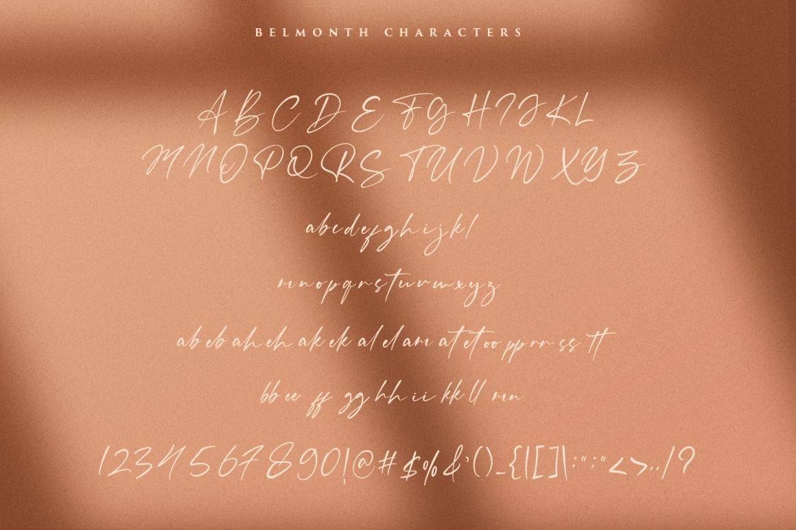 Belmonth / Luxury Script example image 2