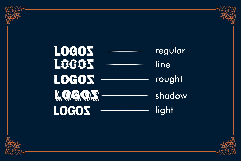LOGOS | 5 Font Logo example image 6