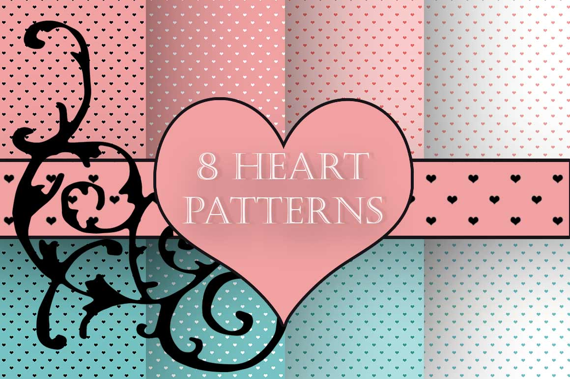 Heart Patterns example image 1