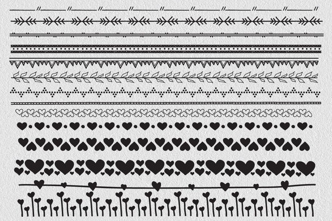 Over 60 Decorative Borders example image 3