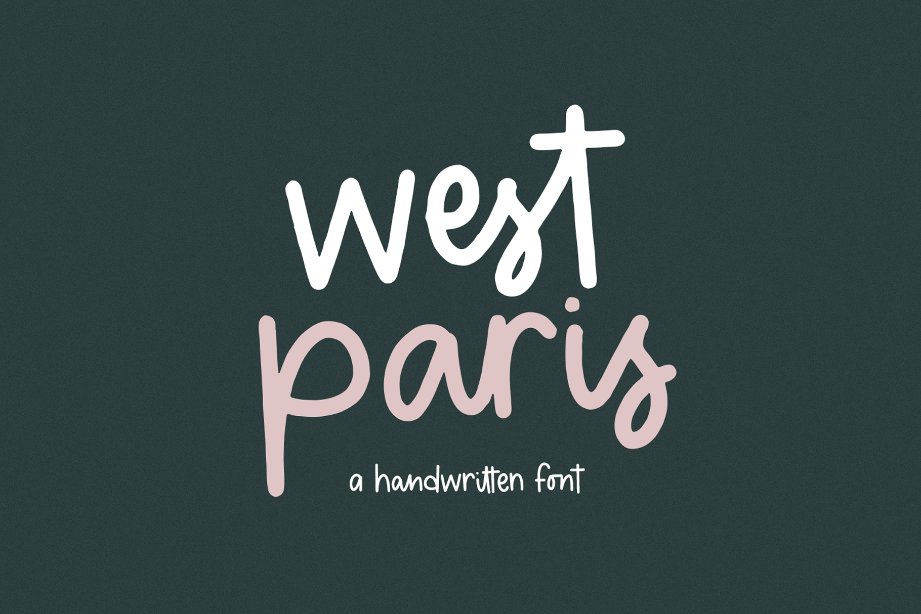West Paris - A Quirky Handwritten Font example image 1