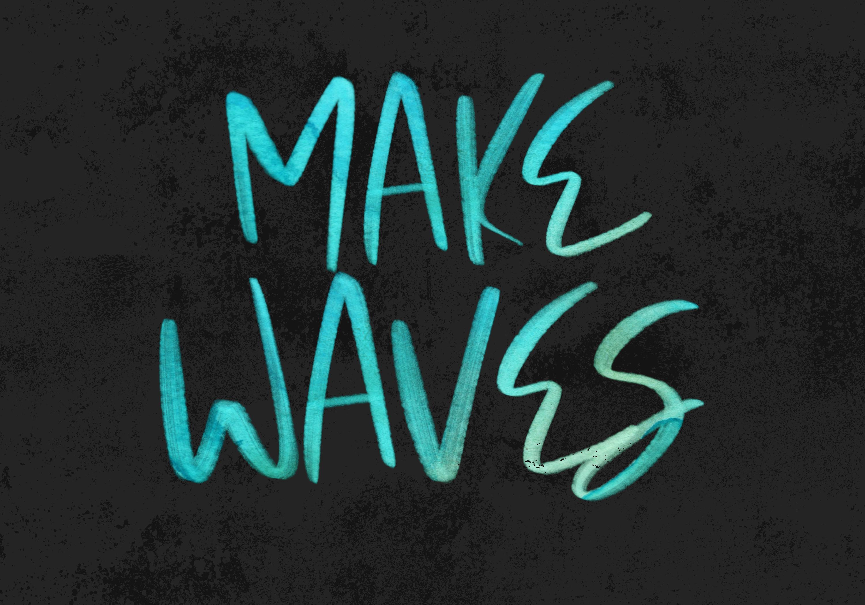 Mink Beach Font & SVG Font example image 5