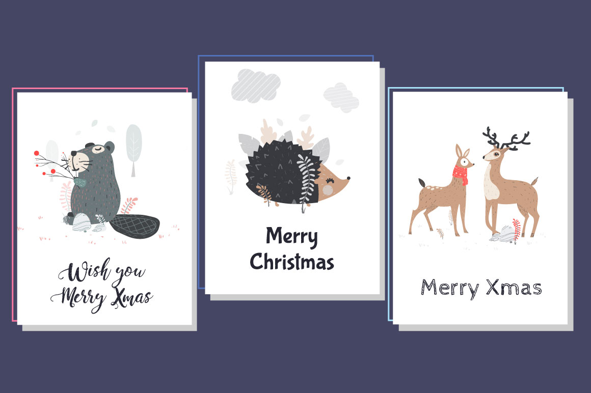 5 Christmas Cards example image 3
