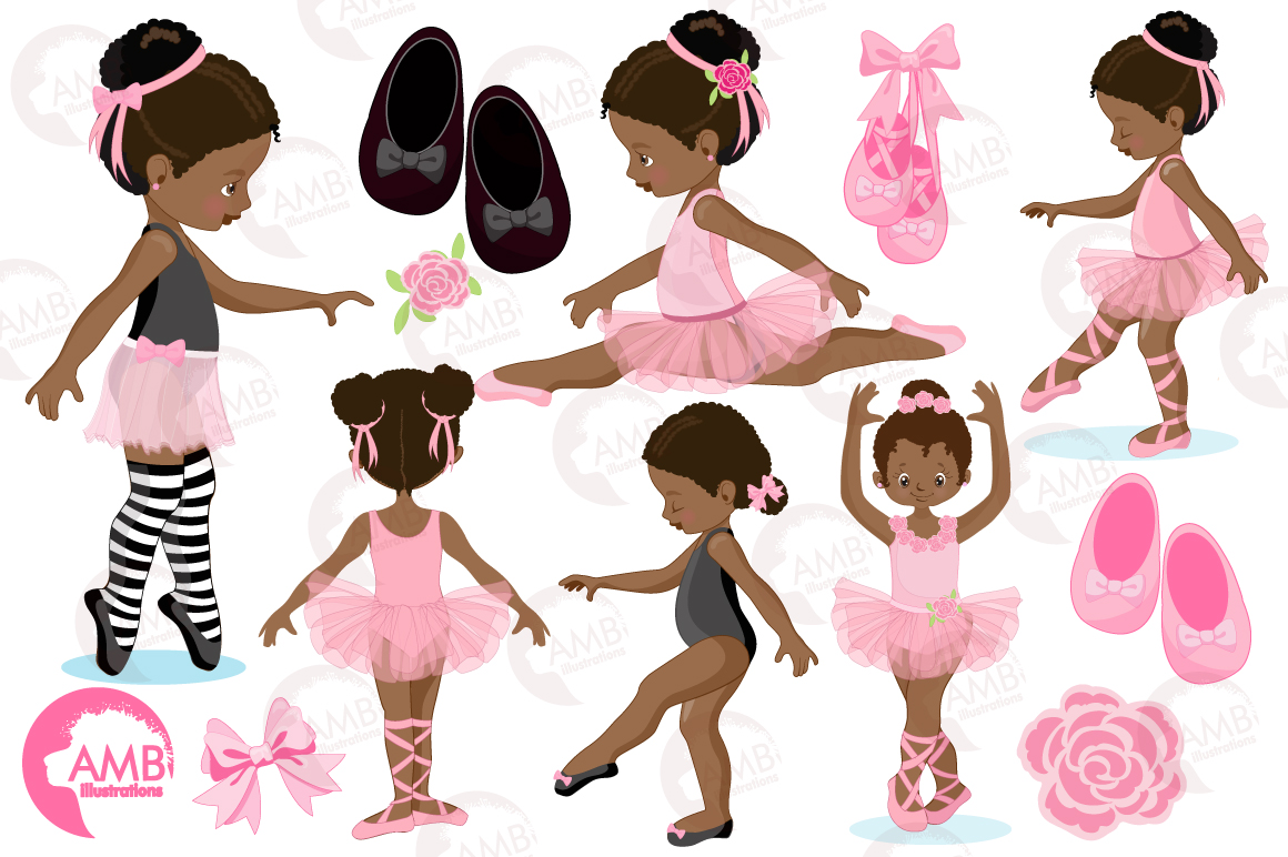 Ballerina Beauties clipart, graphics illustration AMB-1362 example image 5